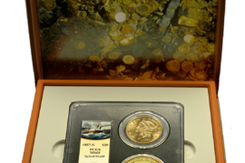 Gold Coins from the 1857 Ship of Gold