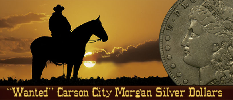 Carson City Morgan Silver Dollars