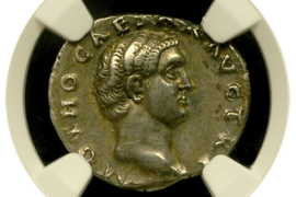 What Ancient Roman coins were made of silver?