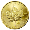 1-oz. Gold Canadian Maple Leaf Coins (Back-Dates)