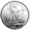 1-oz. St. Gaudens Silver Rounds