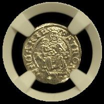 Hungarian Denar MS 63
