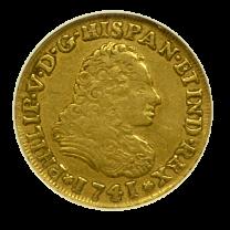 1741/31 Mexican Gold 2 Escudo - OBV