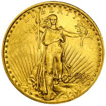 $20 Saint-Gaudens Gold Coin - About Uncirculated