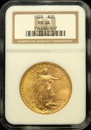 $20 Saint-Gaudens Gold Coin NGC/PCGS MS-64