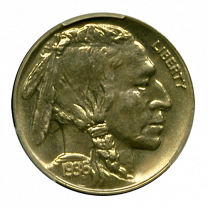 1936 Buffalo Nickel PCGS PR67