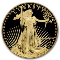 1986 W Proof American Eagle Gold Coin 1-oz.