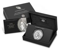 2019-P American Liberty High Relief Silver (in original Mint Box with Cert)