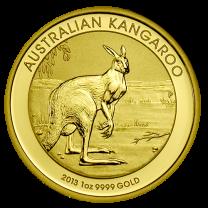 Australian Kangaroo Gold Coins - 1 oz. Any Date