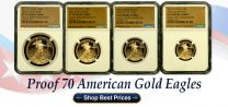 2016 Proof 70 American Eagle Gold 4Coin Set