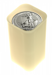 Great Britain Silver Britannia - Roll of 25