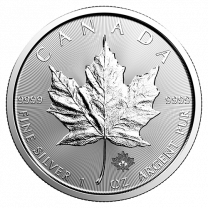 1 oz. - 2020 Canadian Maple Leaf Silver Coins