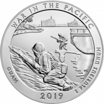 2019 5-oz Silver ATB - War In The Pacific Historical Park