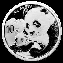 30 gram - 2019 China Panda Silver Coin