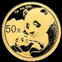 3 gram - 2019 China Panda Gold
