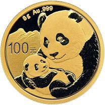 8 gram -2019 China Panda Gold