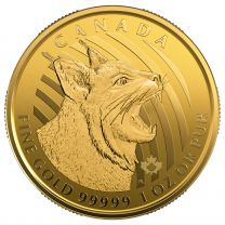 2020 Canadian Gold Bobcat 1-oz