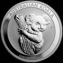1 oz. - 2020 Australian Silver Koala