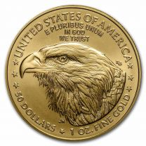 (Type 2) 1-oz. 2021 Gold American Eagles