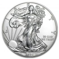 2015 American Eagle Silver Dollars - 1 oz.