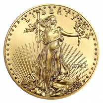 1-oz. 2021 Gold American Eagles