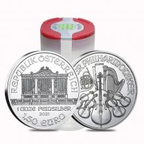 2015 Austrian Philharmonic Silver Coins - Roll of 20