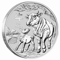 2 oz. - 2020 Silver Australian Year of the Mouse