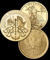 Gold Sampler - 3 gold coins