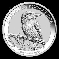 1oz. - 2020 Australian Kookaburra Silver Coins