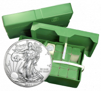 Mint Box of 500 - 2020 Silver American Eagles