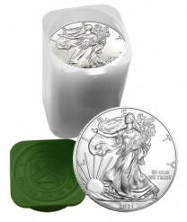 Mint Rolls of 20 - 2020 Silver American Eagles