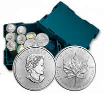 Mint Box of 500 - 2020 1 oz. Canadian Maple Leaf Silver Coins