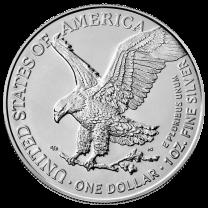 2021 Silver American Eagles Obverse