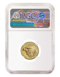 MS-70 NGC (Type 2) 1/4-oz. 2021 Gold American Eagle