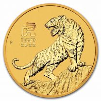 1 oz - 2021 Australian Gold Year of the Ox - REV