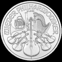 2015 Austrian Philharmonic Silver Coins - 1 oz.