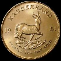 Krugerrand Gold Coins - 1 oz. - Obverse