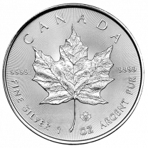 Any Date Canadian Silver Maple Leaf Coins - 1 oz.