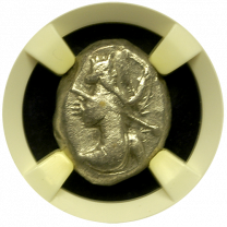 Achaemenid Silver Siglos NGC Very Fine 5x4