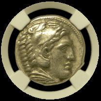 Alexander the Great Tetradrachm Choice Very Fine - Obverse