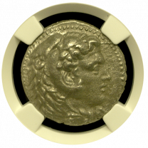 Alexander The Great Silver Tetradrachm NGC CHVF Fine Style