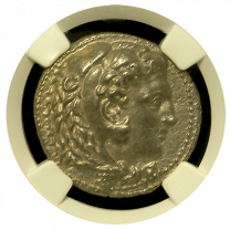 Alexander III Silver Tetradrachm in Choice Extremely Fine Condition |Obverse