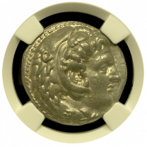 Alexander The Great Silver Tetradrachm NGC XF 5x3 Fine Style