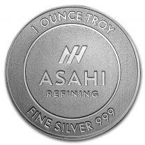 1-oz. Asahi Silver Rounds