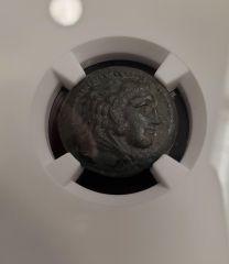 Alexander III Bronze Unit NGC XF 4x3
