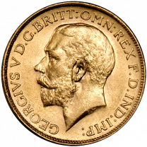 British Sovereign George 1911-1932 - Obverse