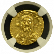 Justinian II Gold Solidus (First Reign) Mint State