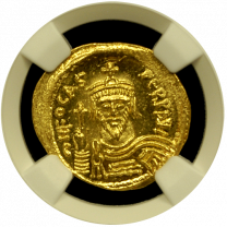 Phocas Gold Solidus NGC GEM-MS 5x5