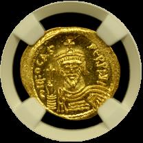 Phocas Gold Solidus NGC GEM-MS 5x5