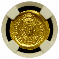 Marcian Gold Solidus NGC GEM-MS 5X5